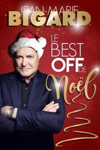 Jean Marie Bigard affiche spectacle